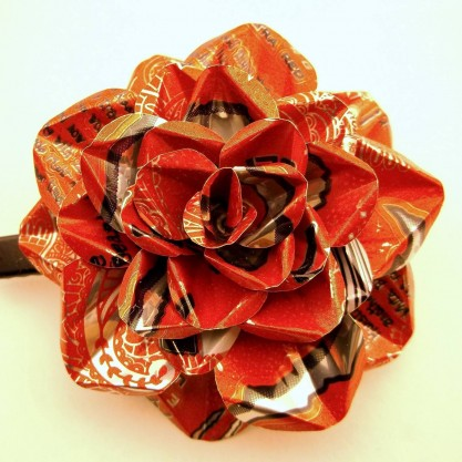 Craft Room 13 Metal Soda Can Hair Flower
